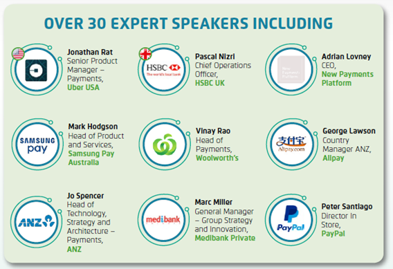 Payments Speakers