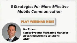 6 Strategies For More Effective Mobile Communication PDF