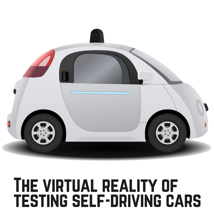 the virtual reality of testing self driving cars automotive iq. Black Bedroom Furniture Sets. Home Design Ideas