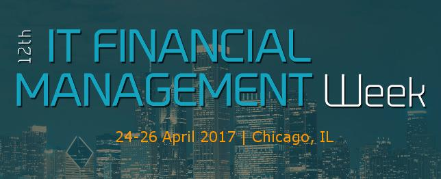 IT Financial Management Week - 2017