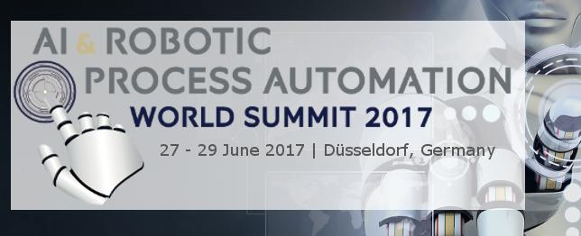 AI Robotic Process Automation World Summit 2017