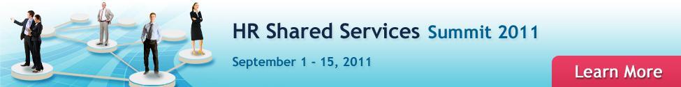 HR Shared Services Summit 2011