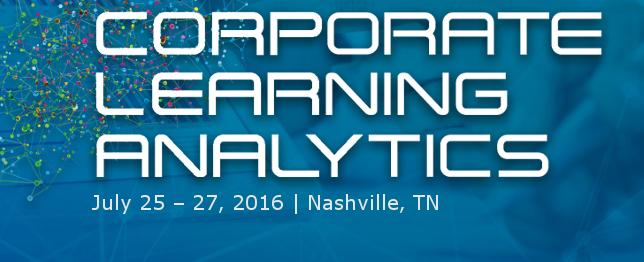 Corporate Learning Analytics 2016