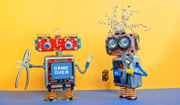 RPA retiring robot