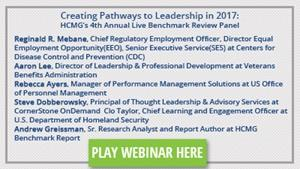 Creating Pathways to Leadership in 2017: HCMG's 4th Annual Live Benchmark Review Panel