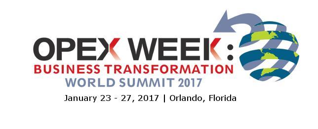 OPEX Week 2017
