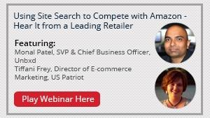 Using Site Search to Compete with Amazon - Hear It from a Leading Retailer