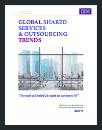 Global shared services report