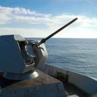 naval small calibre gun turret