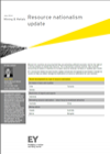 Ernst and Young Report - Resource Nationalism Update June 2014