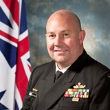 Rear Admiral Stuart Mayer
