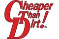 Cheaper Than Dirt! Logo