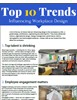 Top 10 Trends Influencing Workplace Design