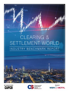 2015 Clearing & Settlement World Industry Benchmarking Report