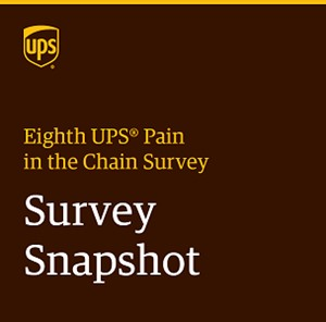 Eighth UPS Pain in the Chain Survey