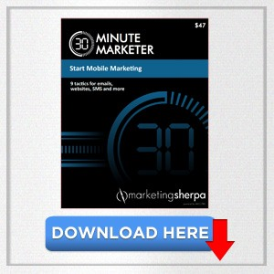 MarketingSherpa's - Start Mobile Marketing