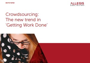 Crowdsourcing - The New Trend Getting Work Done