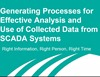 Generating Processes for the Effective Analysis and Use of Collected Data from SCADA Systems