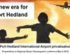 A new era for Port Hedland: Port Hedland International Airport privatisation