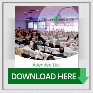 Field Service 2015 Attendee List