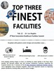 Top 3 Finest Facilities