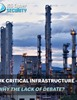 Critical Infrastructure - Why the lack of debate?