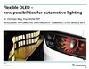 Flexible OLED – New Possibilities for Automotive Lighting