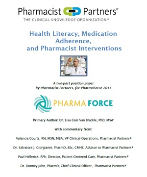 Health Literacy, Medication Adherence and Pharmacist Interventions - Position Paper
