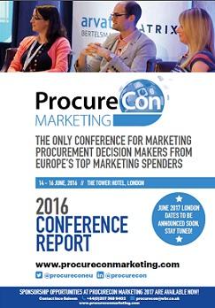 ProcureCon Marketing 2016 - Post Show Report