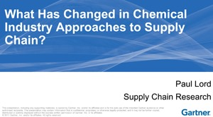 Chemical Supply Chain Articles