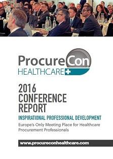 Conference Report - ProcureCon Healthcare 2016