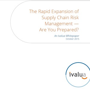 CPO Insights: The Rapid Expansion of Supply Chain Risk Management - Are You Prepared?