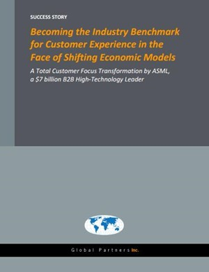 Becoming the Industry Benchmark for Customer Experience