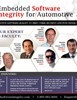 Embedded Software Integrity for Automotive Summit