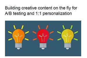 Building Creative Content On The Fly