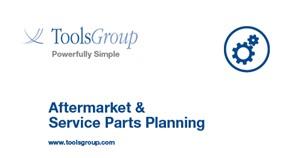 Aftermarket & Service Parts Planning