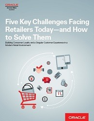 Five Challenges facing Retailers Today