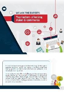 Top factors affecting  Asian E-commerce