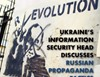 Ukraine's information security head discusses Russian propaganda tactics