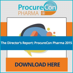 The 2015 ProcureCon Pharma Director's Report