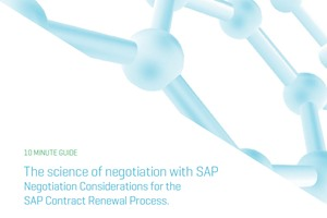 The Science of Negotiation with SAP