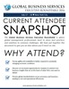 Current Attendee Snapshot