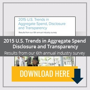 2015 U.S. Trends in Aggregate Spend, Disclosure and Transparency