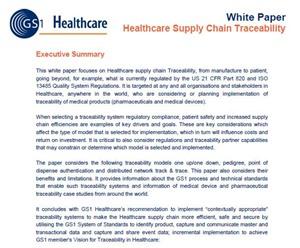 Healthcare Supply Chain Traceability