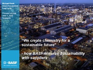 How BASF ensures Sustainability with suppliers