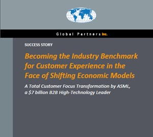 Becoming the Industry Benchmark for Customer Experience in the face of Shifting Economic Models