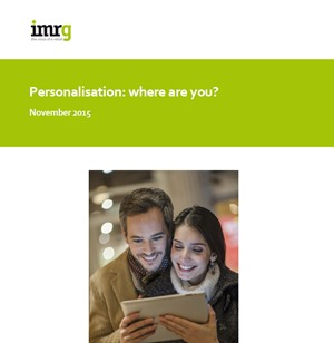 Personalization - Where are you?