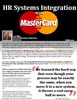 HR Systems Integration with MasterCard