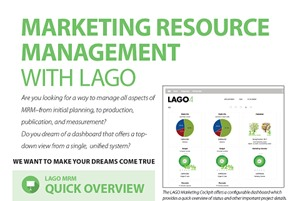 Marketing Resource Management With LAGO