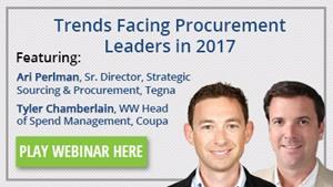 Trends Facing Procurement Leaders in 2017